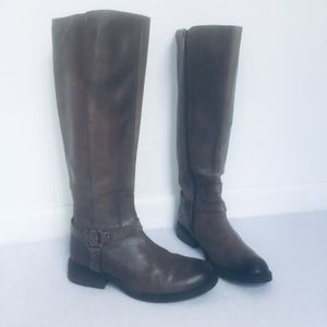 "Vince Camuto ""Farren"" Knee High Leather Boots"